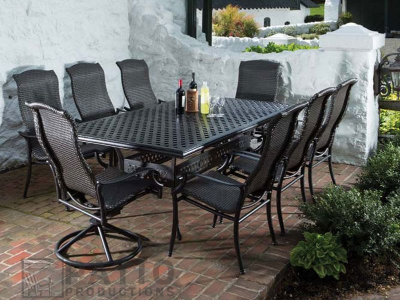 outdoor patio furniture seating options