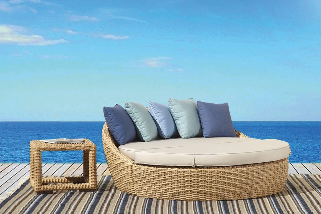 leucadia daybed woven furniture option