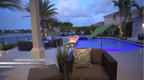Harmonia Living patio furniture was featured on Modern Living with Kathy Ireland