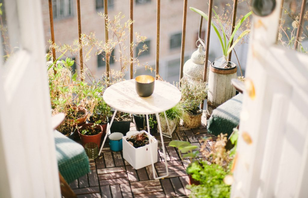 how to decorate a small patio or balcony patio furniture articles
