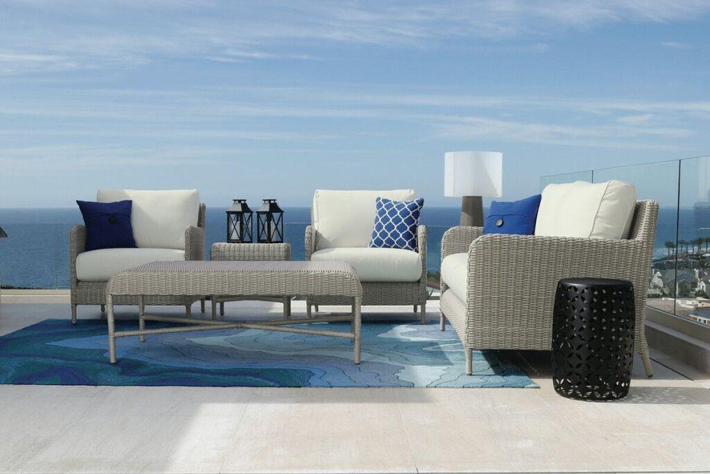 patio furniture design trends manhattan conversation set 2019