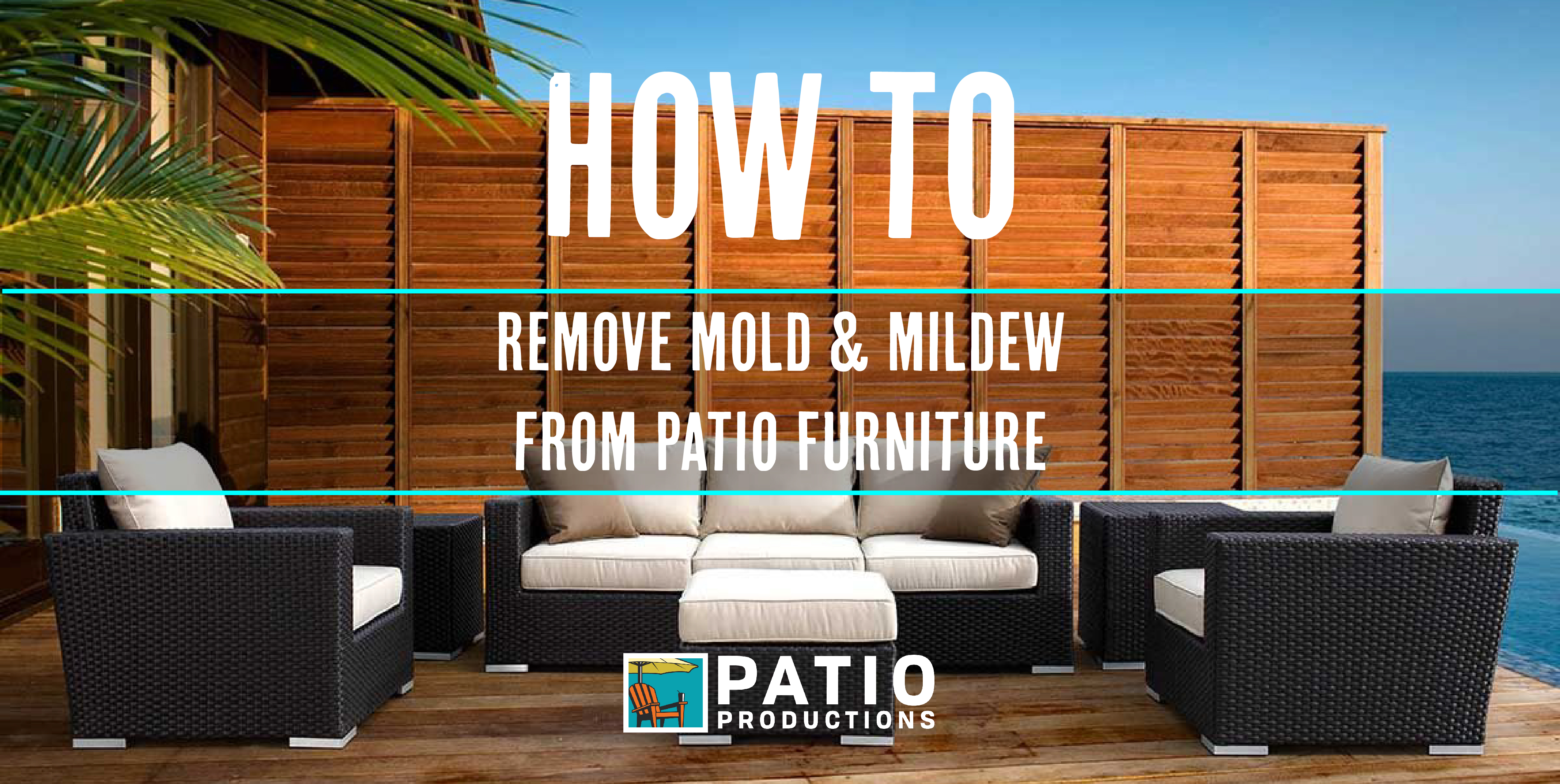 Mildew From Patio Furniture Cushions