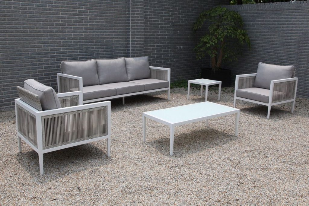 oslo 5 piece dining set woven furniture