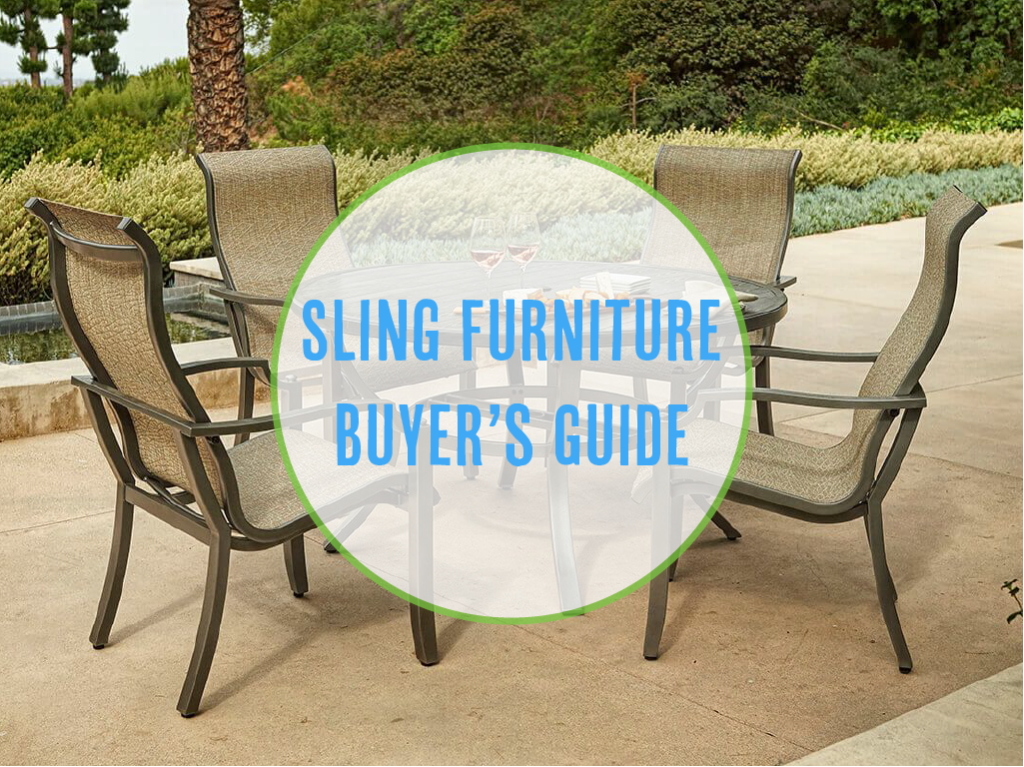 sling patio furniture ultimate buyer's guide 2018