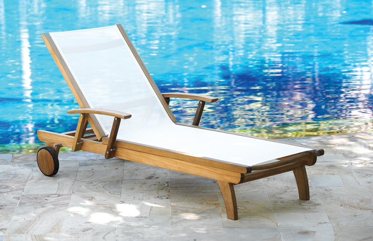 2 Piece Riviera Outdoor Lounger by Three Birds Casual