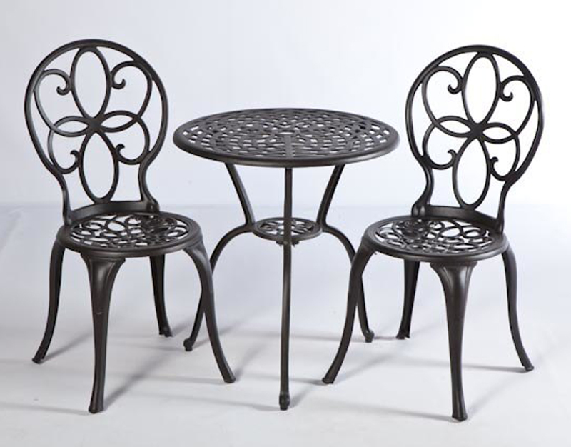 3 pc azalea bistro set patio productions - Bistro sets for small spaces collection ...