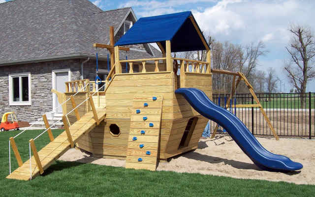 How To Make Your Backyard Child Proof - Backyard playground equipment