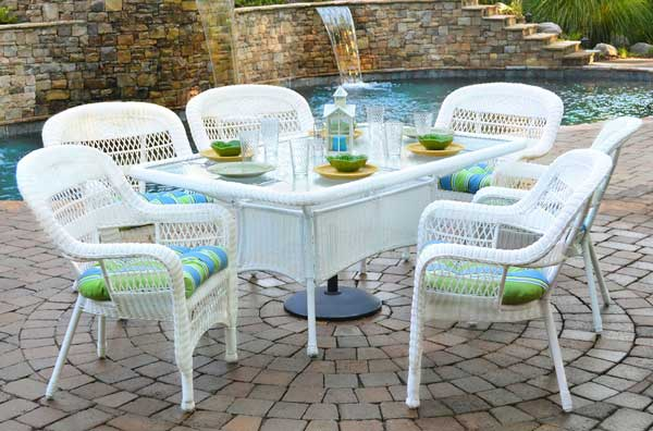White Outdoor Wicker Furniture 20 Sets To Choose From