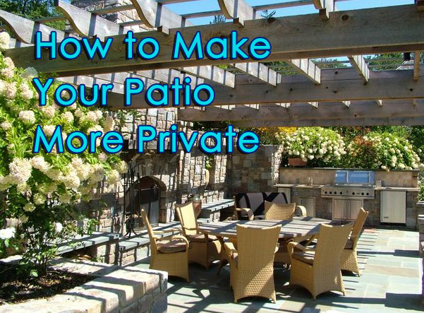 Outdoor Patio Privacy Private How To Tips More Increase Diy Pergola Lattice  Fence Blog