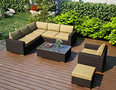 Charming All Commercial Furniture, Outdoor Sofa Sectionals