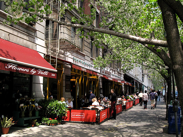 upper west side restaurant patio outdoor furniture sidewalk food visibility exposure business tips improve how to