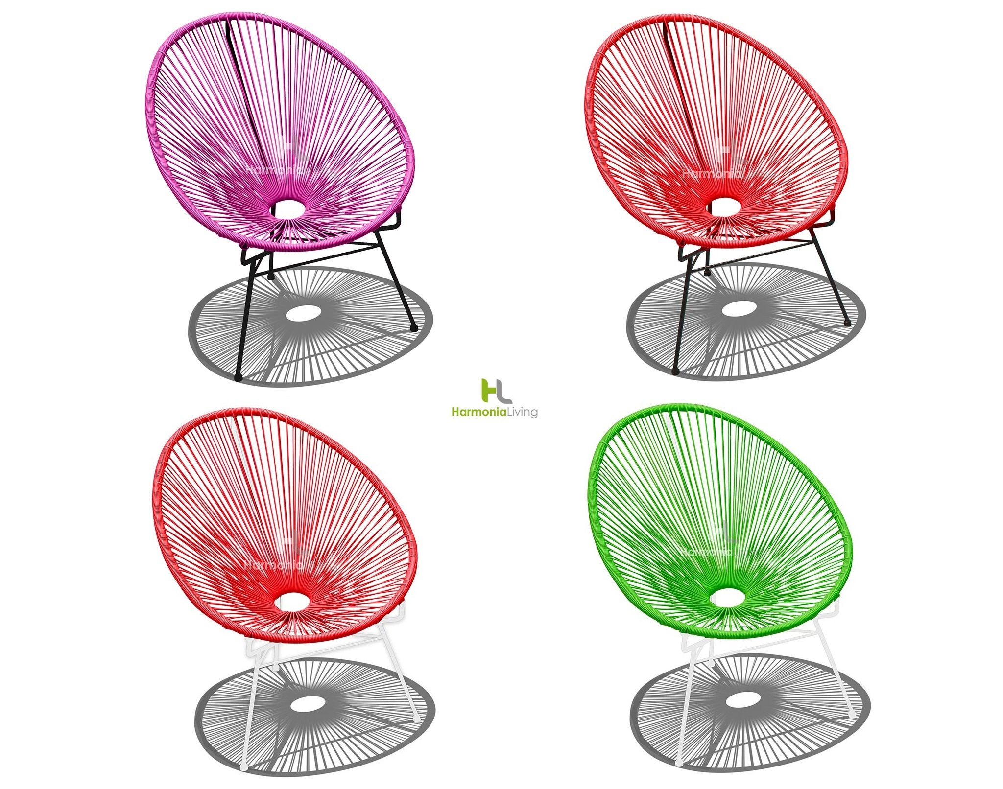 Make a Splash this Summer with these Wacky Acapulco Chairs