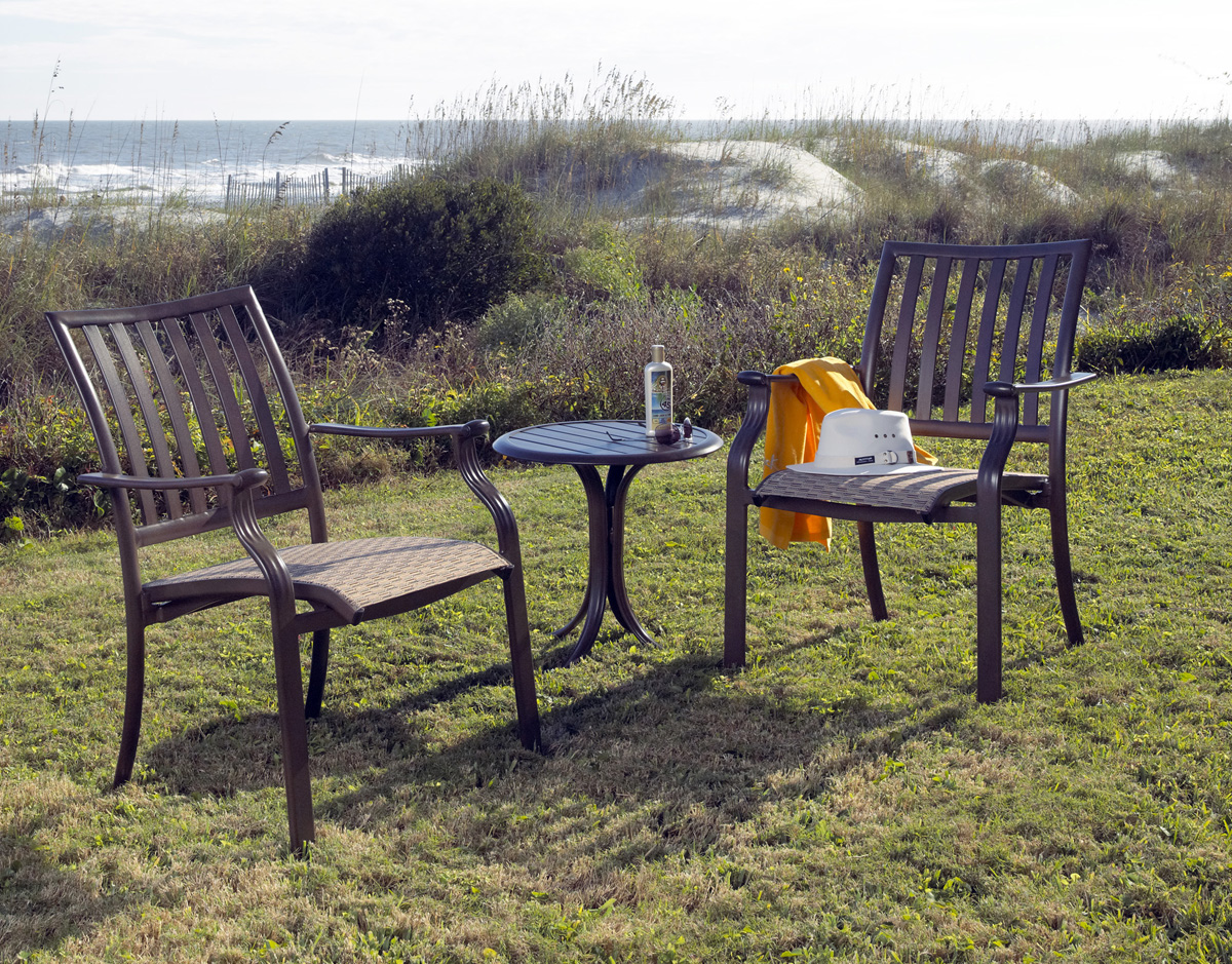 Aluminum patio furniture from Patio Productions is the perfect way to decorate your outdoors