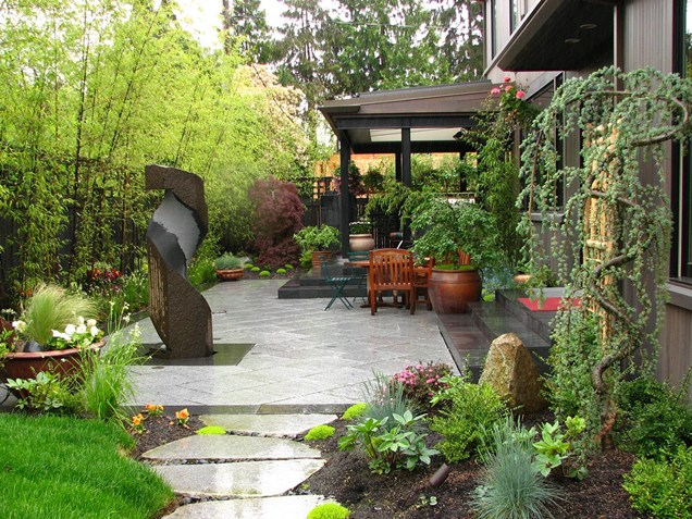 7 backyard renovations that increase home value for Simple japanese garden plans