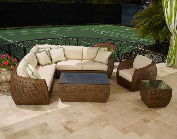 Best Brands of Outdoor Wicker Furniture. The Huntington by Sunset West ... - The Best Outdoor Wicker Furniture Brands