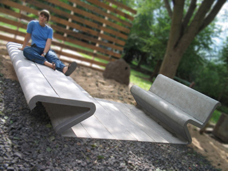 Amazing Concrete Furniture Design