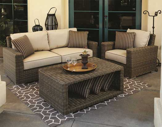 Coronado Wicker Sofa Set U2013 3 Pc.