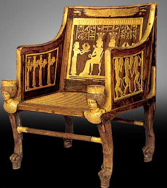 Ancient Egyptian Wicker Chair
