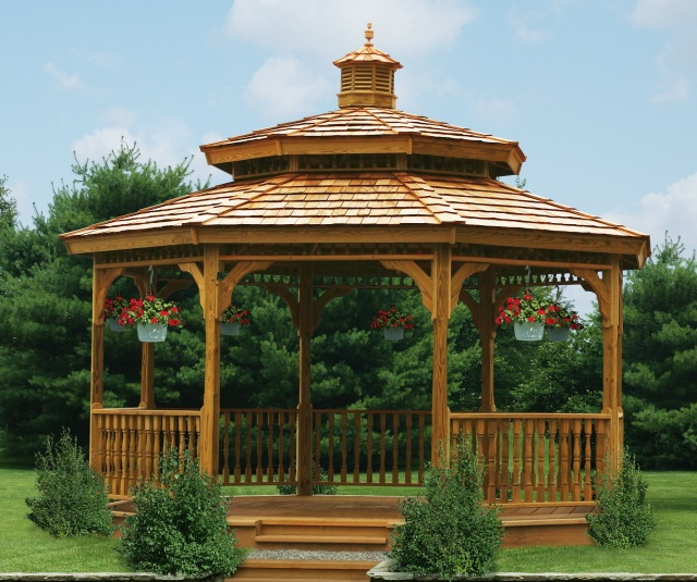 Do It Yourself Home Design: What's The Difference Between A Pergola And A Gazebo
