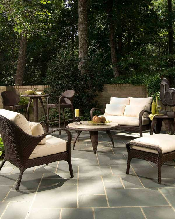Indo Deep Seating Outdoor Sofa Set