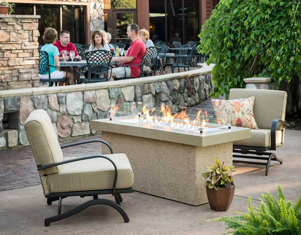 Key Largo Propane Outdoor Fire Pit