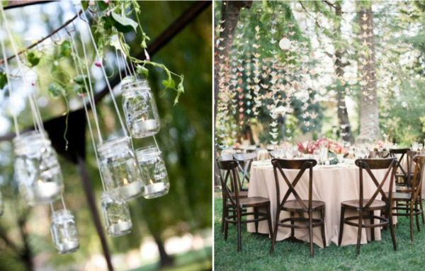 Spring Vintage Wedding Ideas: Creative Spring Backyard Wedding Ideas