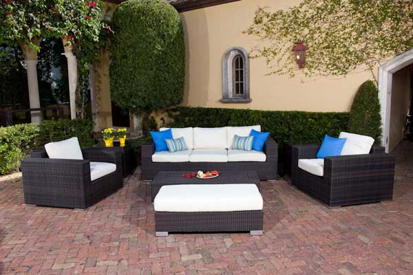 Monarch Deep Seating Outdoor Wicker Furniture Set