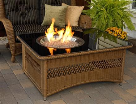 Naples Outdoor Fire Pit Table