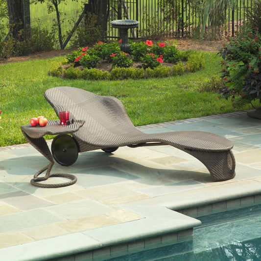 New Outdoor Chaise Lounge 2014