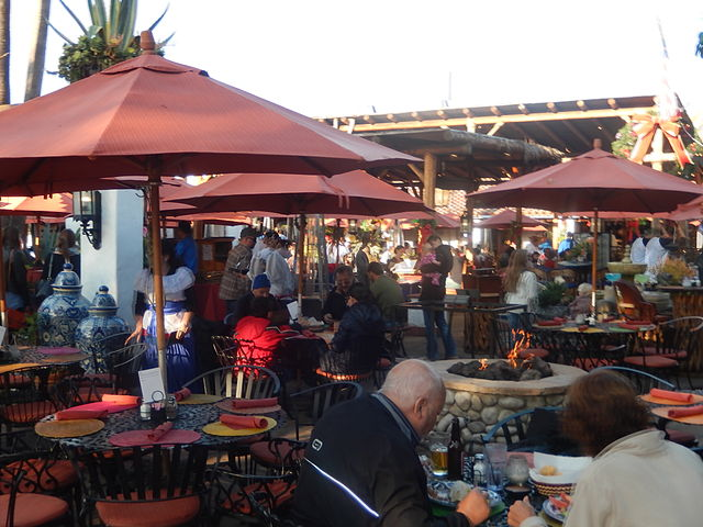 san diego outdoor dining patio old town mexican food cuisine