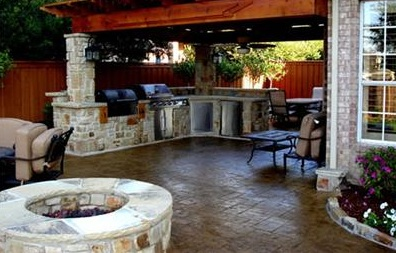 The outdoor kitchen make your patio your second home Is kitchen crashers really free