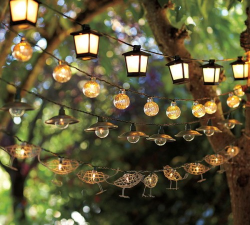 Unique String Lights Outdoor : 9 Enchanting Outdoor Lighting Ideas for Your Home