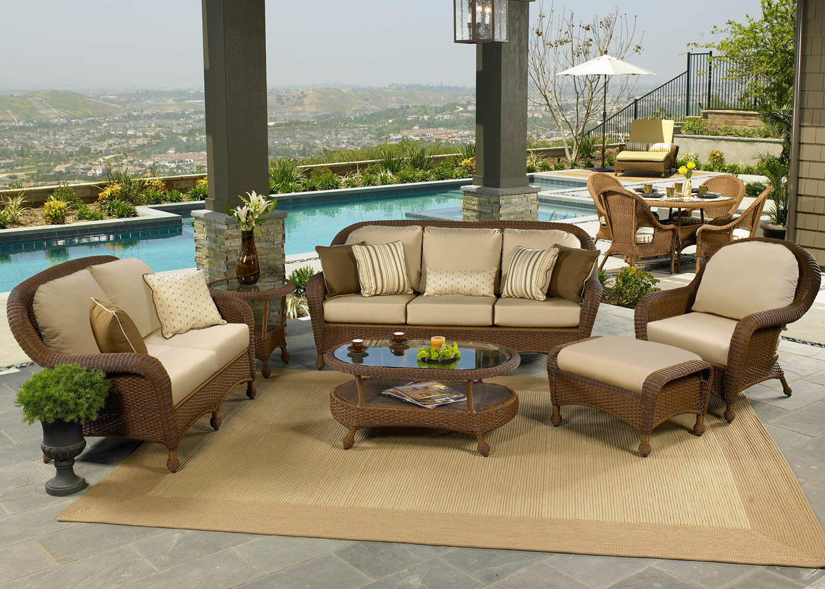 Deep Seating Wicker Patio Furniture Sets I Spacious Design - Wicker patio furniture sets