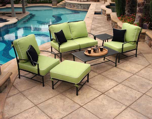 San Michelle Aluminum Outdoor Sofa Set