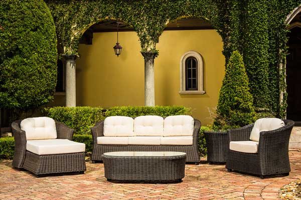 Serenity Deep Wicker Furniture Set