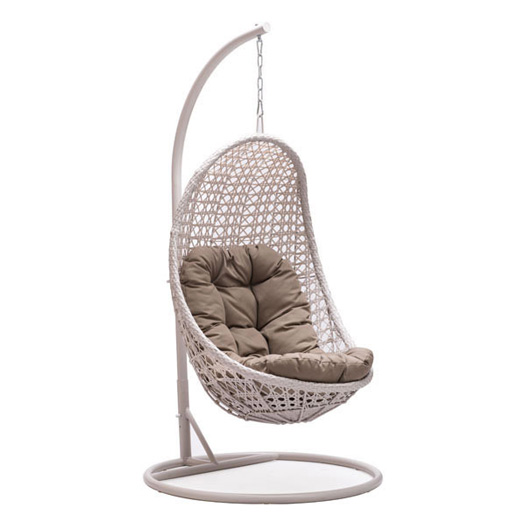 Shekko Outdoor Wicker Hanging Egg Chair