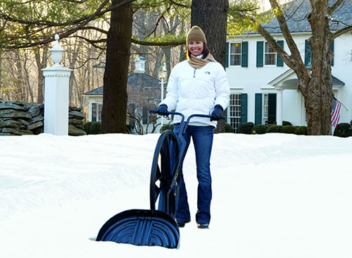 A Faster way to shovel snow!