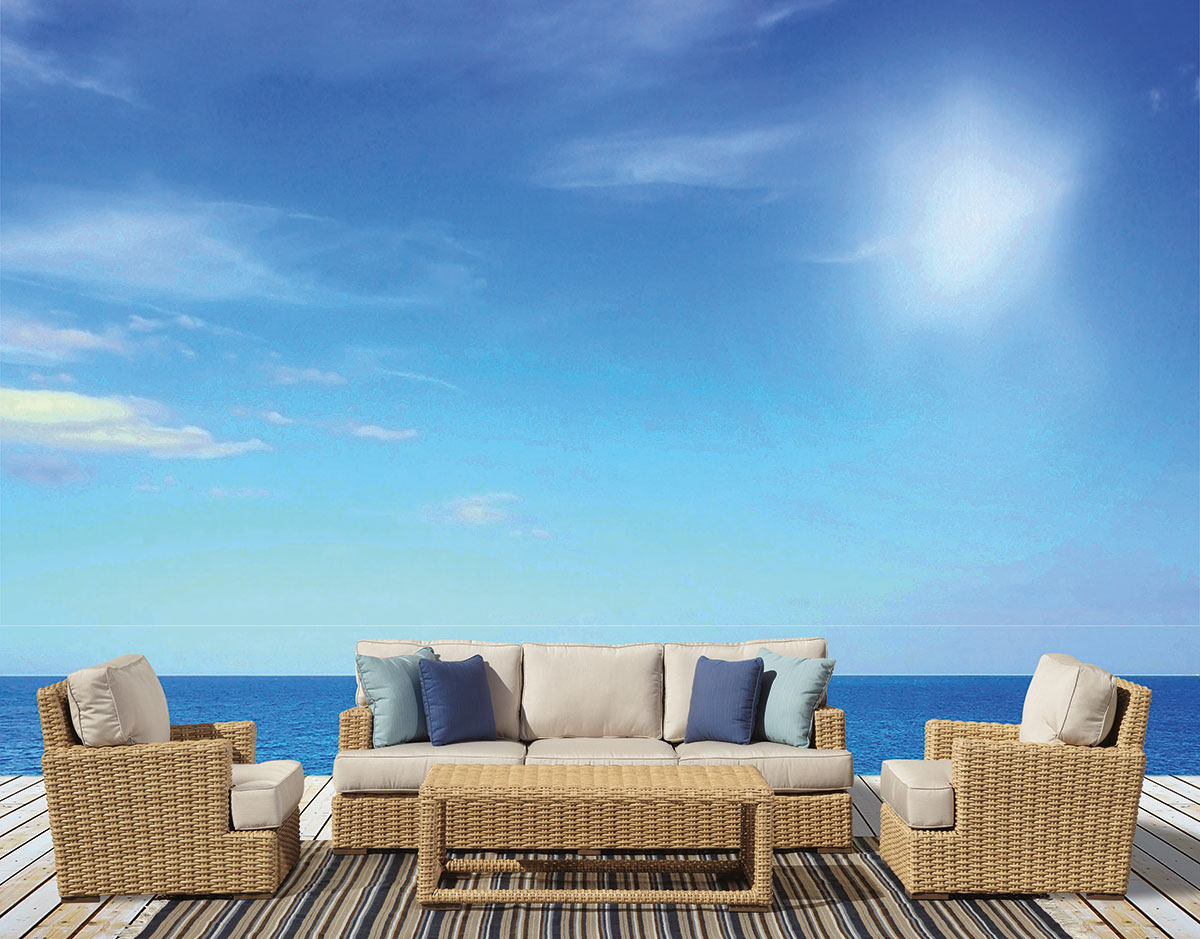 Sunset West Presents The Leucadia Outdoor Sofa Sectional