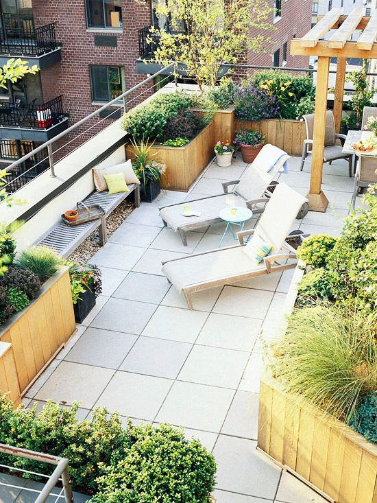 What\'s the Difference Between a Balcony and a Terrace? - Patio ...
