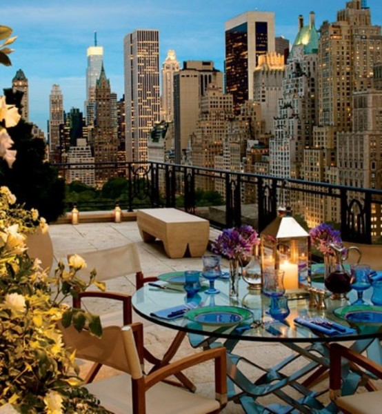 13 Stunning Apartments In New York: What's The Difference Between A Balcony And A Terrace