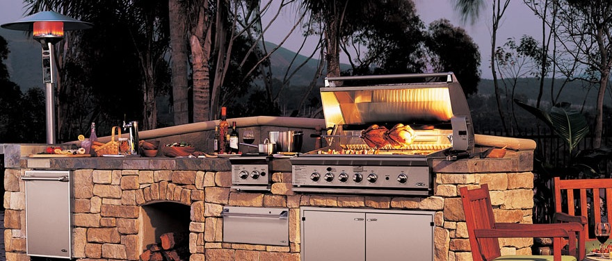Outdoor Grill Stone Tiles