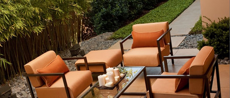 Woodard Salona Aluminum Outdoor Collection