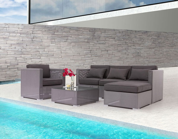 Zuo Clear Water Bay Sectional Set